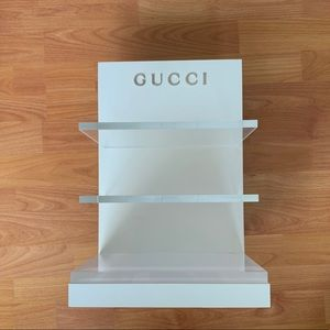 GUCCI display shelf